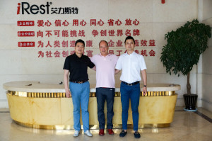 Mr. Zhou (ceo) - Bart ten Oever - Aaron Zhang (sales Director)