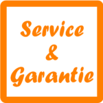 Service-&-Garantie massagestoel TotalSeat